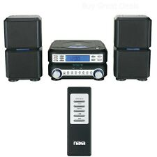 Naxa Digital Micro Compact Shelf Cd Player System Am/Fm Radio w/ Aux-In & Remote