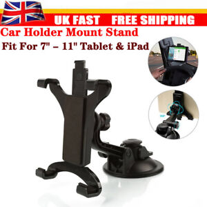 """In Car Suction Phone Holder Dashboard Windscreen Universal Mount Tablet 7 to 11"""""""