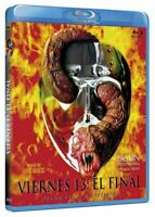 Jason Goes To Hell (The Final Friday) Kane Hodder NEW SEALED BLU-RAY UK REGION B