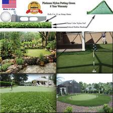 15' Indoor Outdoor Pro Putt Artificial SyntheticTurf Putting Golf Green Grass