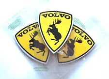 3x Car air freshener Volvo moose emblem from sticker - perfume New Car scent Y18
