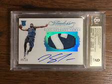 2015-16 Flawless Karl Anthony Towns /10 BGS 9 Rookie Patch Auto RPA RC