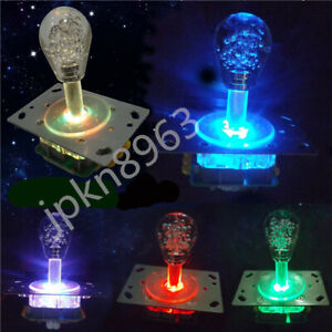 Arcade game Colorful 4-8 way LED Illuminated Joystick for jamma mame cabinet