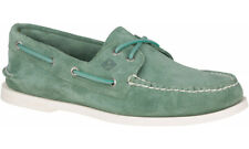 NEW! Sperry Top Sider STS19749 Boat Shoe Green Casual