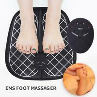 Electric EMS Foot Massager Physiotherapy Vibrator Feet Muscle Stimulator HY#U
