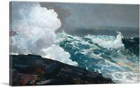 ARTCANVAS Northeaster 1895 Canvas Art Print by Winslow Homer