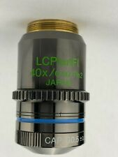 Olympus Lcplanfl 40x 060 Ph2 Infinity Corrected Phase Microscope Objective