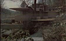 Architecture - Mill Run PA Falling Water Frank Lloyd Wright Postcard #12