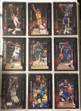 1997-98 Skybox Premium Rock N Fire 10 Card Insert Set Kobe Iverson Shaq