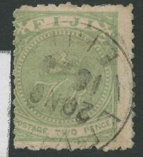 Fiji SG47 1881 2d green Used