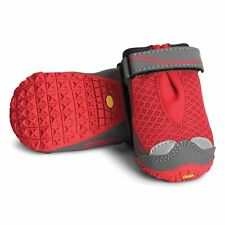 Ruffwear Grip Trex Dog Boots Red Currant - Size 2.0in, 51mm - 2 Pairs New in Box