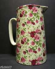 Heron cross pottery summertime chintz anglais 2 pinte pot à lait