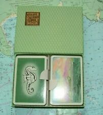 Twin Box 1960 Saville Shaw Shipping Line Playing Cards