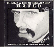 G.G. ALLIN hated CD Awareness PUNK ost Todd Phillips