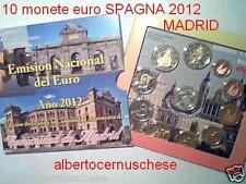 2012 SPAGNA 10 monete 7,88 euro Espagne Spain España Spanien MADRID Испания