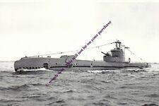 rp13346 - Royal Navy Submarine - HMS Sea Scout , built 1944 - photo 6x4