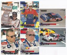 1996 Traks REVIEW/PREVIEW Complete 50 card set BV$15! Earnhardt, Gordon, Martin.