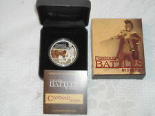 Battle of Cannae216 BC 1oz. Silver Proof Tuvalu 2009