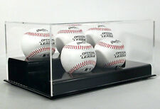 Saf-T-Gard DELUXE ACRYLIC FIVE 5 MLB BASEBALL DISPLAY CASE - AD26