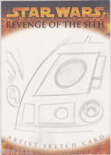 STAR WARS ROTS REVENGE SITH SKETCH TOM HODGES R2-D2