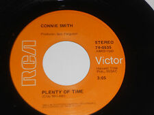 CONNIE SMITH NM- Plenty Of Time 45 I'm Sorry If My Love Got In Your Way 74-0535