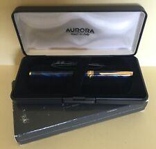 penna stilografica AURORA MAGELLANO A18 anno 2000 colore blu