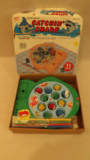 Vtg/Retro Catchin Sharks Battery Operated Game NOS 1988 by Play Zone inc