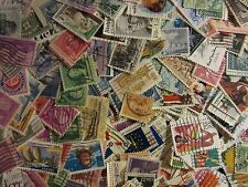 All  different US stamp lot of 300 USED STAMPS super mix with FREE SHIPPING L36