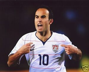 LANDON DONOVAN USA MEN'S SOCCER 8X10 SPORTS PHOTO (PEG)