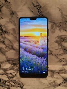Huawei P20 EML-L09 - 128GB - Black (O2) (Single Sim) *See Desc*
