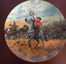 """Knowles Collector Plates """"Oklahoma """" plate number 18129B"""