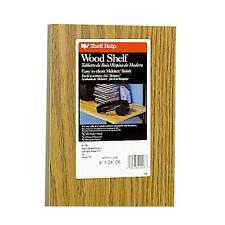 Knape & Vogt 8X24 Oak Shelf