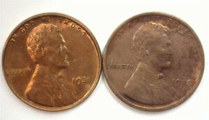 1917 & 1931 LINCOLN CENT CHOICE / GEM UNCIRCULATED SCARCE IN BRILLIANT UNC