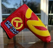Scotty Cameron Red and Yellow Industrial Circle T Tour Hot Head Harry Headcover