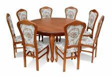 Esstisch &  8x Stühle Esszimmer Set Essgruppe Kalssischer Tisch Stuhl Tische Z16