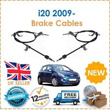 For Hyundai i20 1.1 1.2 1.4 TD 2009- Rear Right & Left Hand Brake Cables x2 New