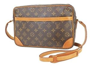Authentic LOUIS VUITTON Trocadero 30 Monogram Shoulder Bag Purse #40589