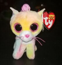 "Fluffy Ty Beanie Boo Clip - MWMT - 3.5"" Cat - FREE SHIPPING"