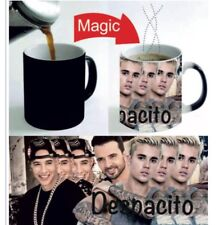 Justin Bieber Mugs Despacito Cups Black HEAT COLOUR CHANGING MAGIC Mug Gift 11oz