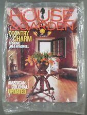 New Sealed House & Garden Magazine May 2003 Country Charm American Colonial