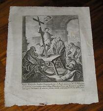 Beatus Alexander Saulius Beato Alessandro Sauli stampa incisione in rame XVIII