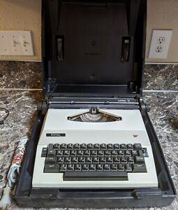 Royal Jubilee 12 Electric Typewriter Vintage w/ Case West Germany Tested Working