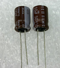 4x   ELNA RFS SILMIC II 10uF 50V,  GENUINE Audio-Grade Capacitor. USA Seller
