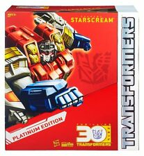 TRANSFORMERS STARSCREAM YEAR OF THE HORSE PLATINUM 30TH ANNIVERSARY EDITION