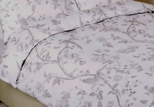 LAURA ASHLEY - Summer Palace - SINGLE size duvet cover set - Dove Grey - NEW
