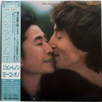 JOHN LENNON / YOKO ONO / MILK AND HONEY / POLYDOR JAPAN OBI 25MM0260
