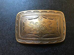 Rare,Navajo,Tribal,Viking,Celtic,Medieval,Western,Cowboy belt buckle.Brass plate
