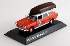 PEUGEOT 404 Break - 1967 - 1/43ème - Hachette - Collection Peugeot