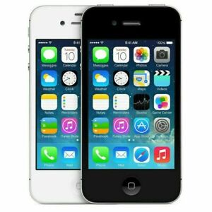 Apple iPhone 4S 8GB/ 16GB /32GB/64Gb 4G LTE Smartphone Factory Unlocked SIM FREE