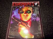CONSPIRACY RPG BOOK 1996 (NEW MILLENNIUM ENTERTAINMENT) 2nd EDITION
